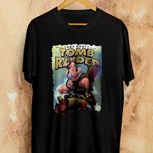 53752a9f260 Rare Top Cow Comic Tomb Raider Lara Croft T Shirt Vintage Size S - 3XL  Casual