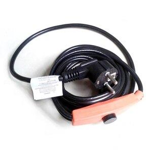 Image 3 - 16 wát/mét Chống đóng băng ống làm nóng cáp ống ngăn đông 220 V làm nóng Cáp Mini inteligent Bộ điều khiển