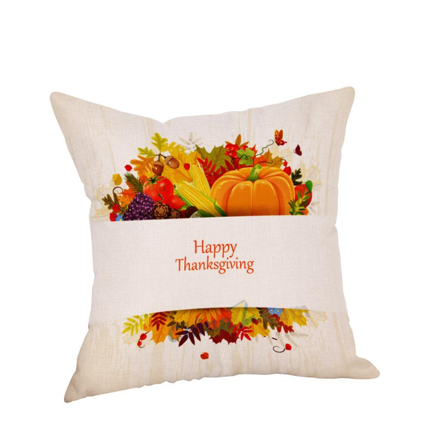 pillows quality thanksgiving throw pillow olpkipo cheap cotton design decorative covers home happy good