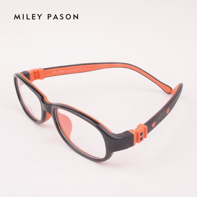 f382ad08f0 Kids Plastic TR90 ultra-lightweight Flexible Eyeglasses Soft silica gel  Children Cartoon Optical Glasses Frame Prescription 1103