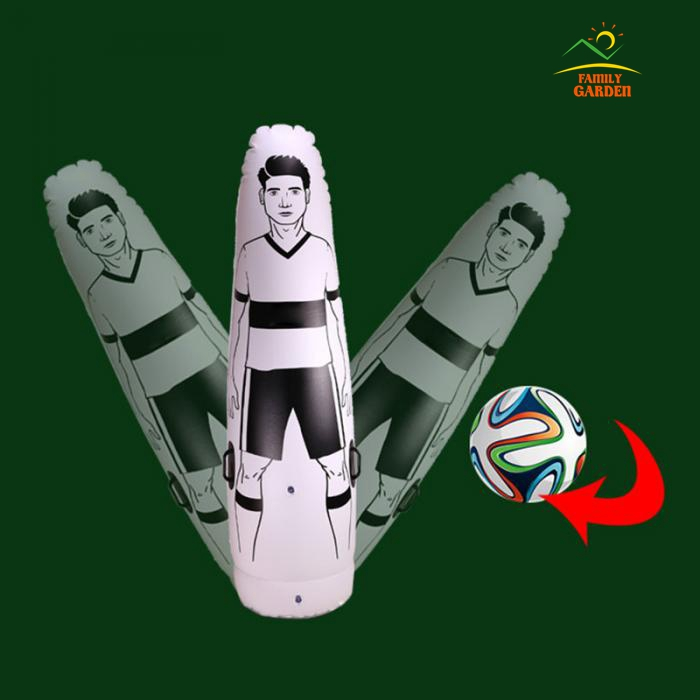 High Quality Thick 0.6MM PVC Inflatable Football Training Goal Keeper Tumbler Air Soccer Dummy Mannequin For Children And Adult-in Punching Bag & Sand Bag from Sports & Entertainment    2