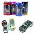 Coca-cola Puede Mini RC Radio Remote Control Micro Vehículo Chico Racing de Coches de Juguete de Regalo