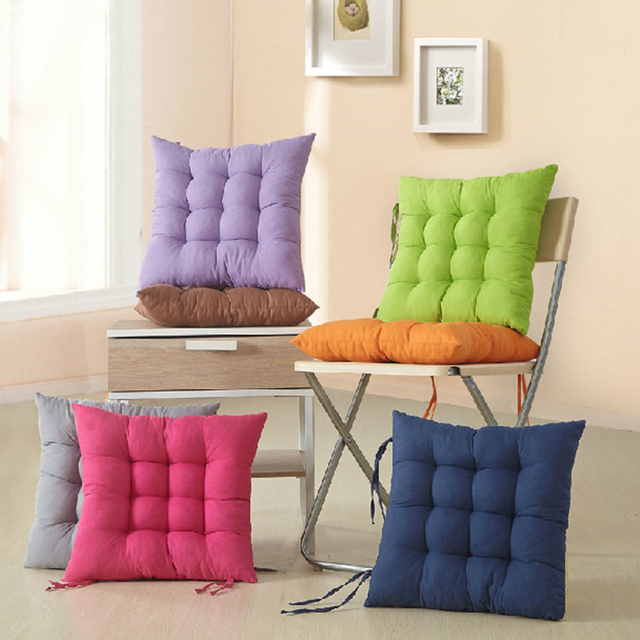 """יפן סגנון יו""""ר Mat Pad, נוח מושב כרית כרית, 40x40 cm כרית עיצוב בית כריות רצפת Cojines Almohadas"""