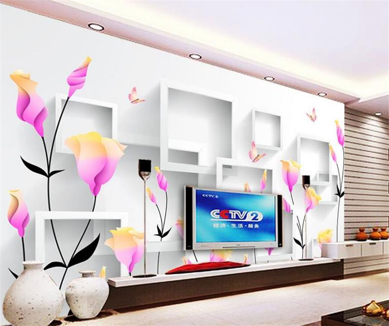 3d photo wallpaper custom mural room non-woven Fantasy purple flower box painting picture 3d wall murals wallpaper for walls 3d 3d room custom wallpaper photo non woven mural picture 3d fantasy forest birds decoration painting wallpaper for walls 3 d