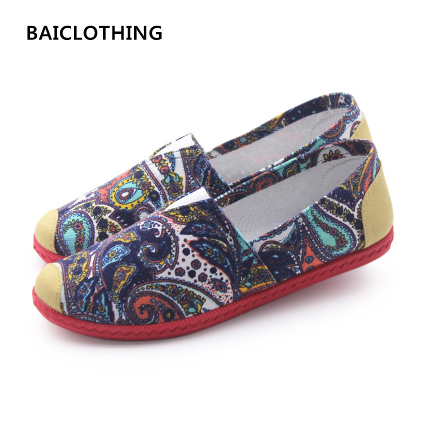 BAICLOTHING women cute slip on round toe flat shoes female casual soft and comfortable flats lady star printed casual flat shoes women loafers casual shoes female round toe slip on wide shallow flats lady shoes oxford spring summer shoes for women or910314