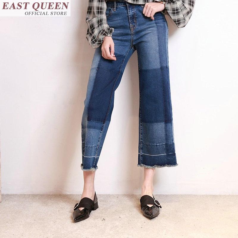 Denim Pantalon Sentiment Cowboy Un Ff300 Vêtements Pour 1 Lâche Jeans Boyfriend Droite Femmes Nouveau Les dshQrCtx