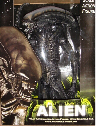 46cm Aliens Official 1979 Classic Action Figures PVC brinquedos Collection Figures toys For Birthday gifts With Retail box 40 cm kaws original fake plastic action figures new 2016 kids toys gifts baby clean slate brinquedos with box