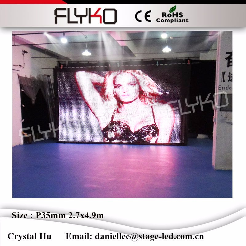 LED video curtain06