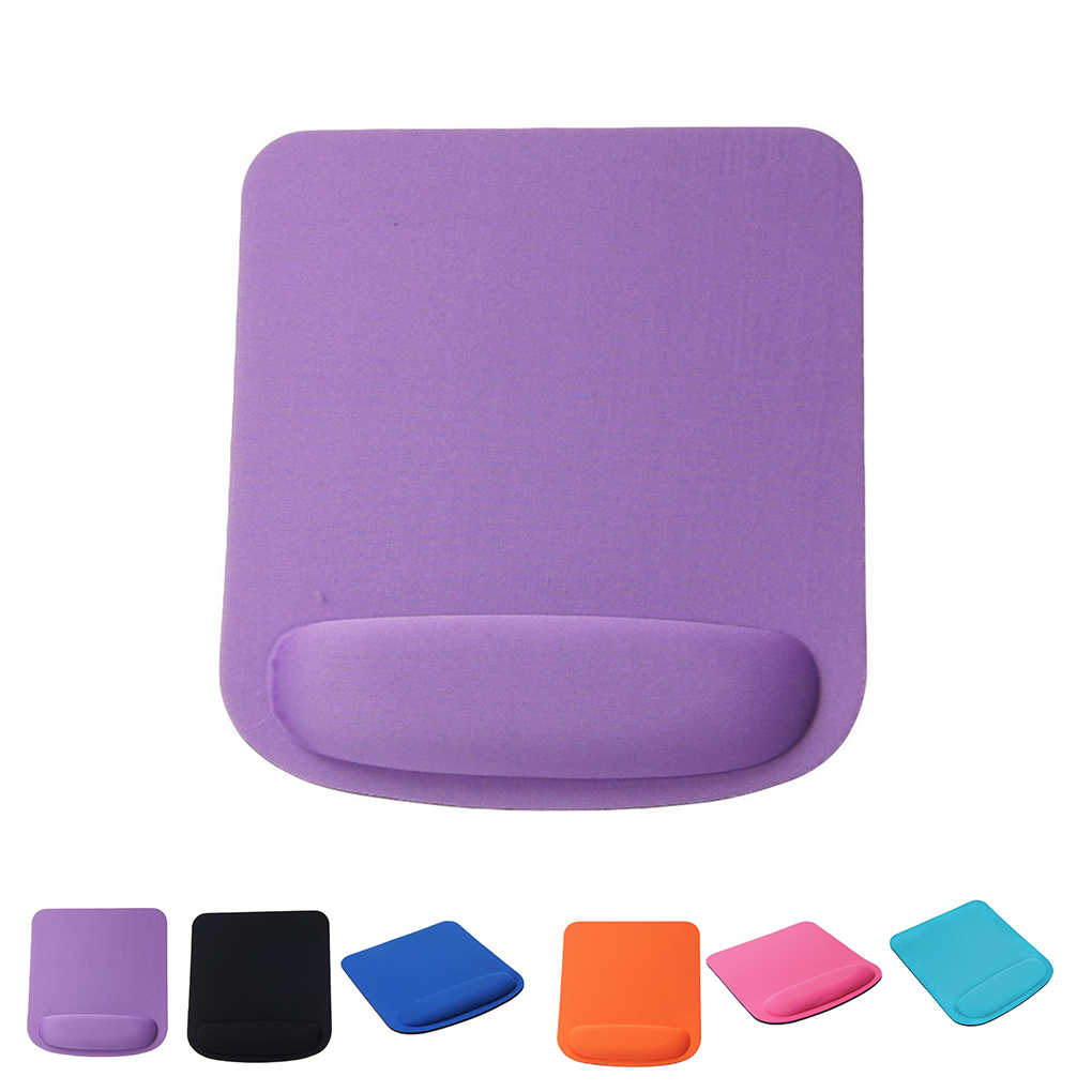 Pad Gel Wrist Rest Mouse Mice Mat Pad Soft Wrist Protected Fabric Gaming Mouse Pad Colorful Mat Non Slip Anti 21*23CM Mouse Pad