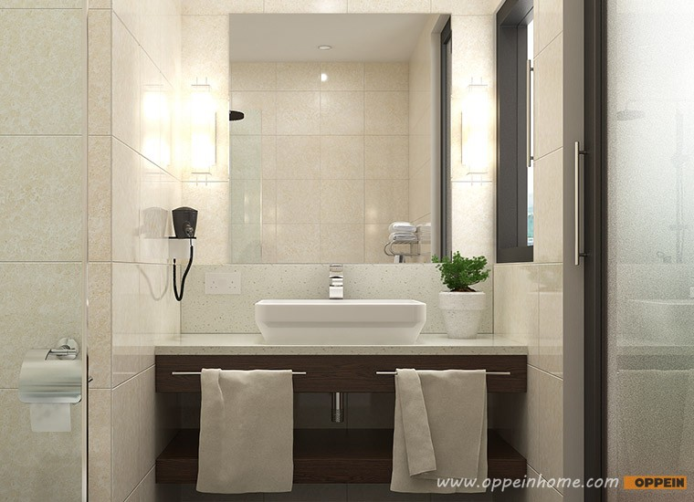 Мебели на заказ, весь дом мебель на заказ Современные Натурального Дерева Зерна дизайн-Отель OP16-HOTEL01