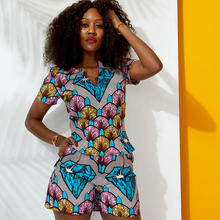 African clothes women set New Fashion Sexy top+short Set fashion Women Clothes