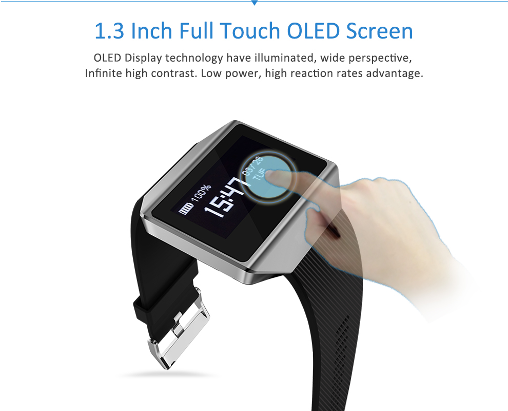 CK12 graphene smart watch ECG heart rate blood pressure sleep monitoring smart wristbands for android ios pedometer sport watch 5