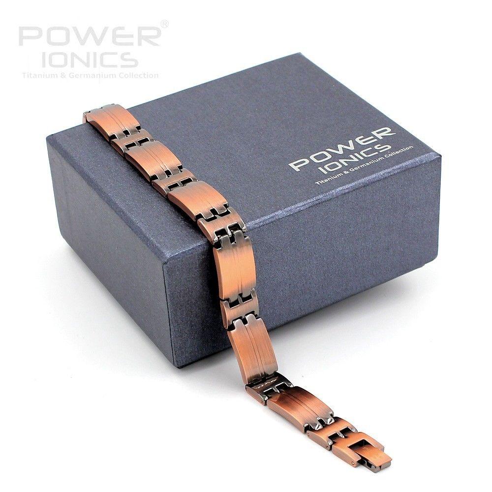 Power Ionischen Retro Stil 100% Titan w/NdFeB Neodym Magnetische Armband-in Hologramm-Armbänder aus Schmuck und Accessoires bei  Gruppe 3