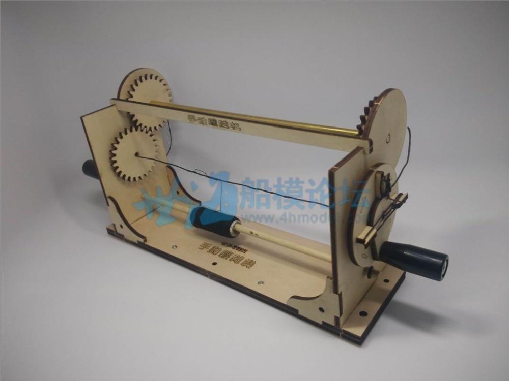 Hobby Model Ship Tool Ropewalk Scale Rope Making Model Kits Standing Rigging