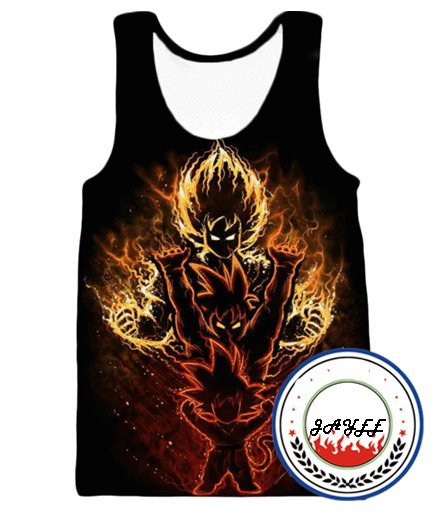 Dragon Ball Gym   Tank     Top   Men 3D Bodybuilding   Tank     Tops   Men Anime   Tops   Mens Vest Fitness   Tops   Tees Super Saiyan Singlets