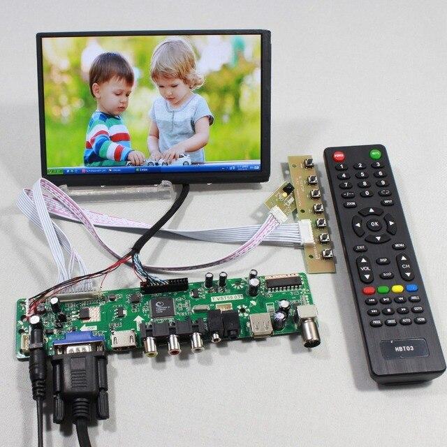 TV PC HDMI CVBS RF USB AUDIO driver Board 7inch N070ICG LD1 39pin 1280x800 IPS lcd
