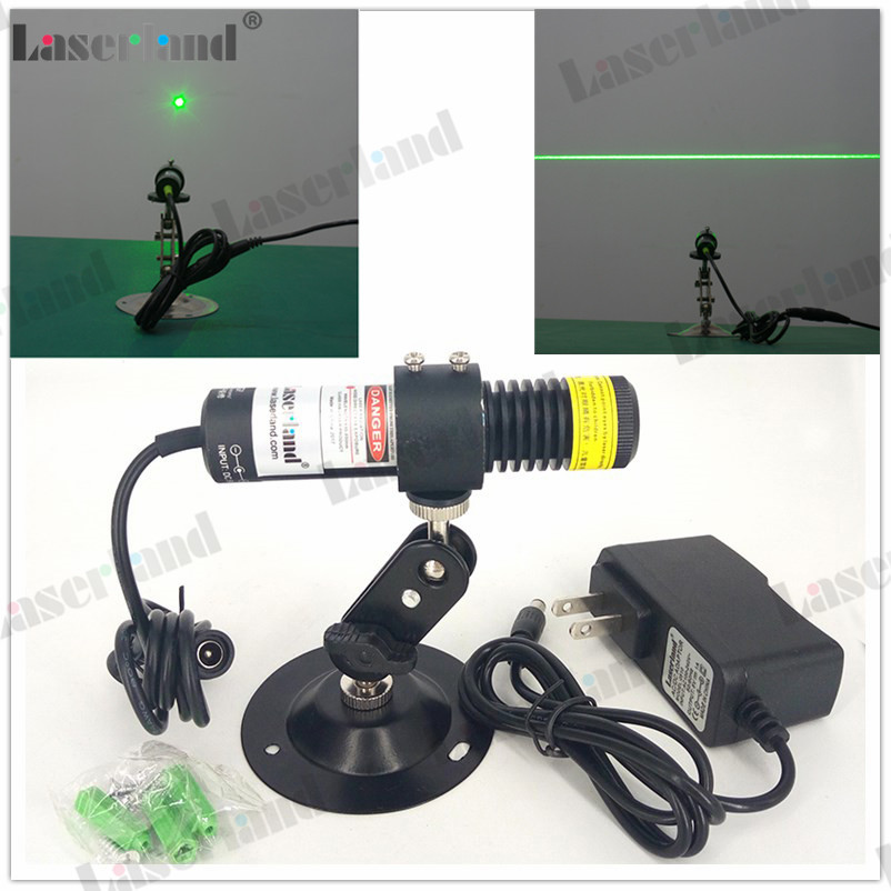 22100 532nm 10mW 20mW 30mW 50mW Green Dot Laser Module Line Generator for Cutting Engraving Machines