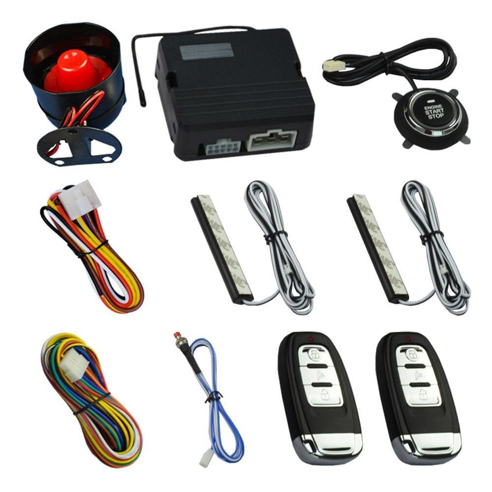 K9 Intelligent One Button Start System Security Car Alarm Passive Keyless Entry Remote Remote Start Auto