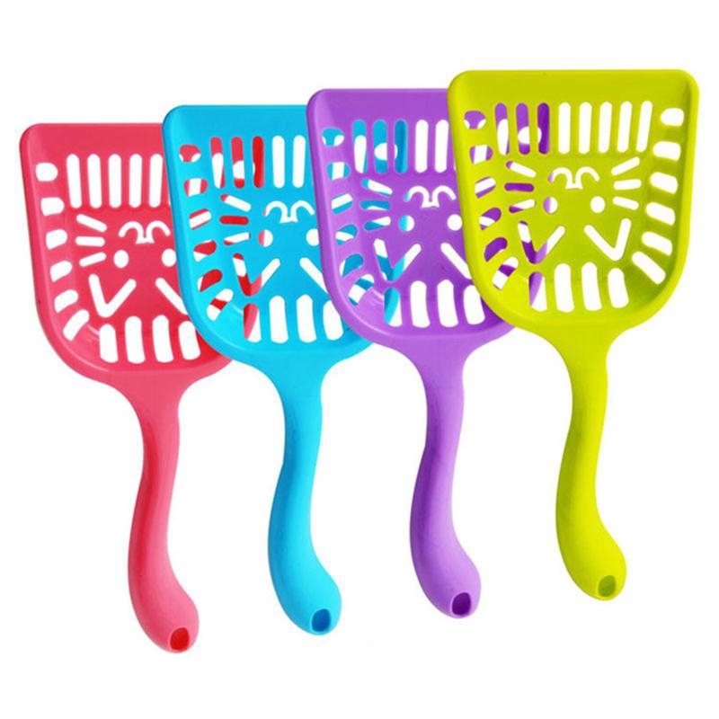 Pet Supplies Dog Puppy Cat Kitten Plastic Cleaning Tool Scoop Poop Shovel Waste Tray For Pet Products Supplies