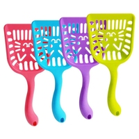 Pet Supplies Dog Puppy Cat Kitten Plastic Cleaning Tool Scoop Poop Shovel Waste Tray For Pet Products Supplies Furniture & Scratchers