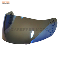 Blue Motorcycle Full Face Helmet Visor Shield Case for AGV GP Pro S4 Airtech Stealth Q3 Titec