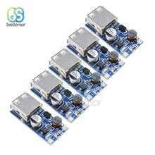 5Pcs 0.9V-5V to 5V DC-DC USB Voltage Converter Step Up Boost