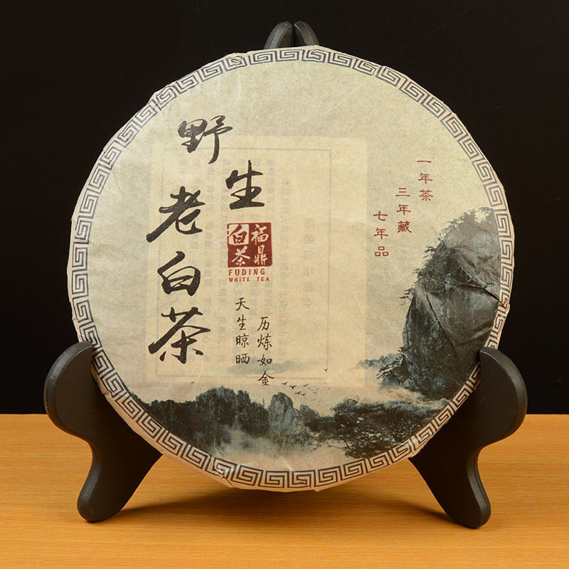 High Quality Chinese Fujian Fuding Shoumei White Tea 350g Lowering Blood Pressure