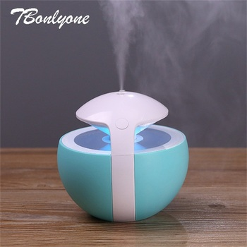 TBonlyone 450ML Mini Ball Humidifier For Baby Home Office Essential Oil Diffuser Air Aroma Diffuser Ultrasonic Air Humidifier