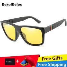 Polarized Sunglasses Women Luxury Brand Square Sun Glasses for Driving UV400 Mirror Glasses Men Goggles oculos de sol with box все цены