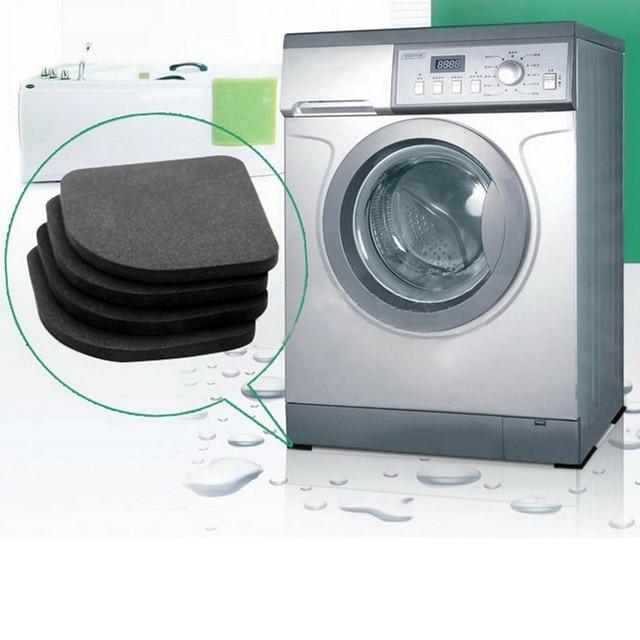 4 pz Frigorifero Anti-vibrazione Pad Zerbino Per Il Lavaggio Della Macchina Past