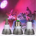 Full spectrum LED Grow light 18W 11Red+3Blue+1White+1Warm White+1IR+1UV E27 E14 GU10 led plant growing lamp Hydroponic Flowering