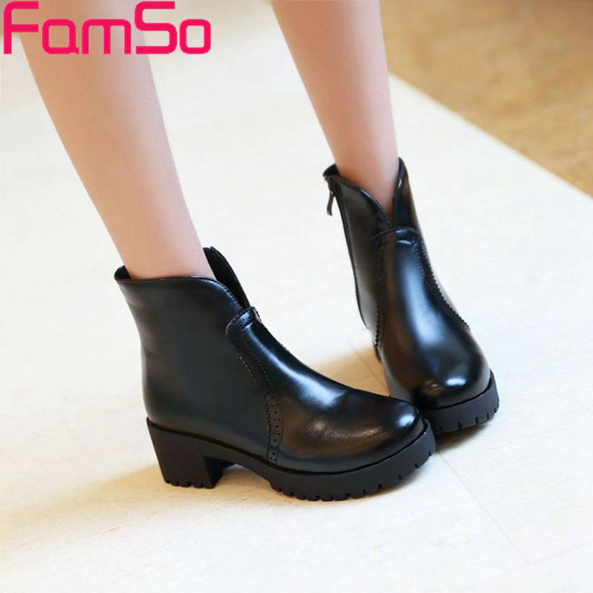 Plus Size34 42 2016 New Sexy font b Women b font Riding boots Black Spring Thick