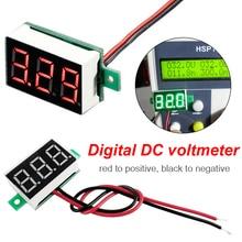 Mini  0.36  Digital Voltage meter  Digital Voltmeter DC 2.5V-30V 2 Wires Red LED Display Panel Voltage Meter