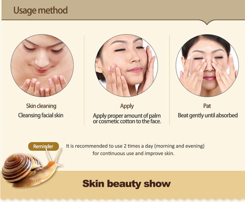 OneSping Snail Cream Snail Whitening Cream Aloe Vera Gel Eye Serum Face