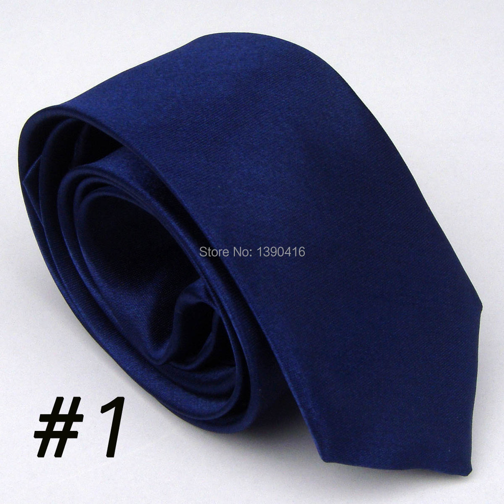 2015 Latest Style Unique Men's Neckties Navy Blue Solid Color/Vestido/Party Dresses/Gift Set/Boda/Gift For Men Neckties For Mens