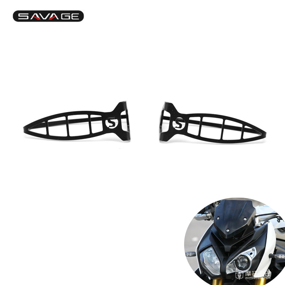 <font><b>LED</b></font> Turn Signal Light Protector For <font><b>BMW</b></font> <font><b>R1200R</b></font> LC/ R1200RS 2015-2016 Motorcycle Indicator Guard Cover Stainless Steel image