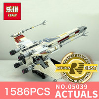 LEPIN 05040 1473Pcs Star War Y Wing Attack Starfighter Model Building Kits Blocks Bricks Boy Toys