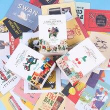 52 pcs/lot Cute Pattern Paper Sticker Sticky Decoration Decal DIY Album Diary Scrapbooking Post it Stationery