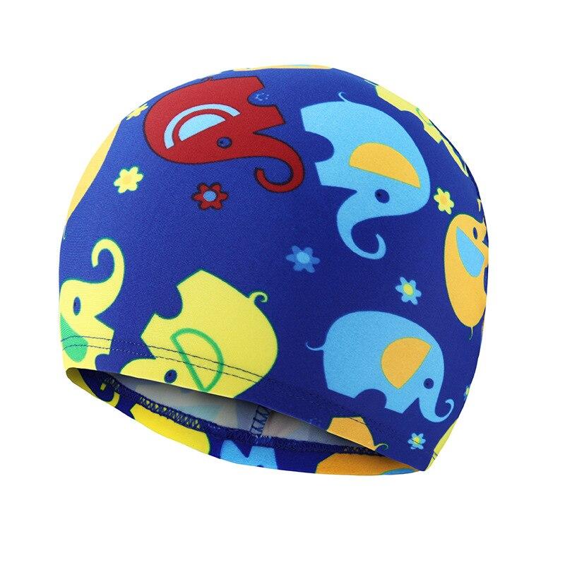 Kids Swimming Caps Cute Cartoon Waterproof Bathing Cap For Children Boys Girls Lovely Ear Protector Swim Pool Hats