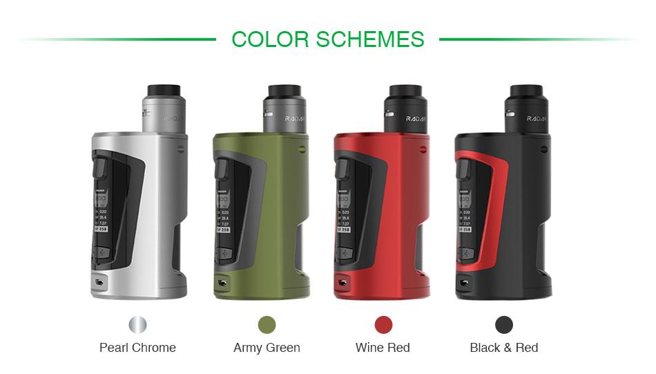 GeekVape GBOX Squonker 200W TC Vape Kit