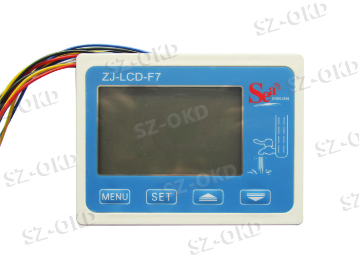ZJ-LCD-F7 flow sensor meter digital display filter controller LCD for RO water machine filter кабель ввгнг ls 3х4 100 м