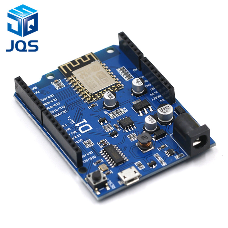 Smart Electronics ESP-12F WeMos D1 WiFi Uno Based ESP8266 Shield For Arduino Compatible IDE