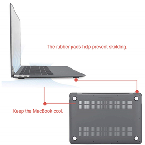 Image 2 - 2019 new Crystal\Matte Case For Apple Macbook Air Pro Retina 11 12 13 15 inch Laptop Bag for New Mac book Air Pro 13.3 Case A193