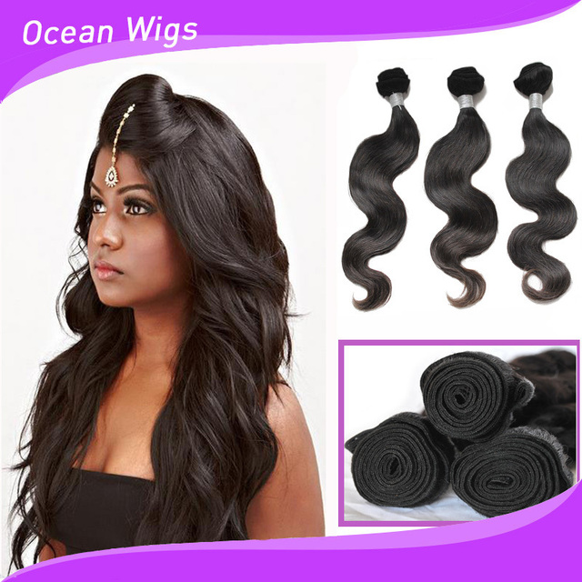 7a Peruvian Body Wave Remy Hair Weave Wavy Crochet 100 Peruvian