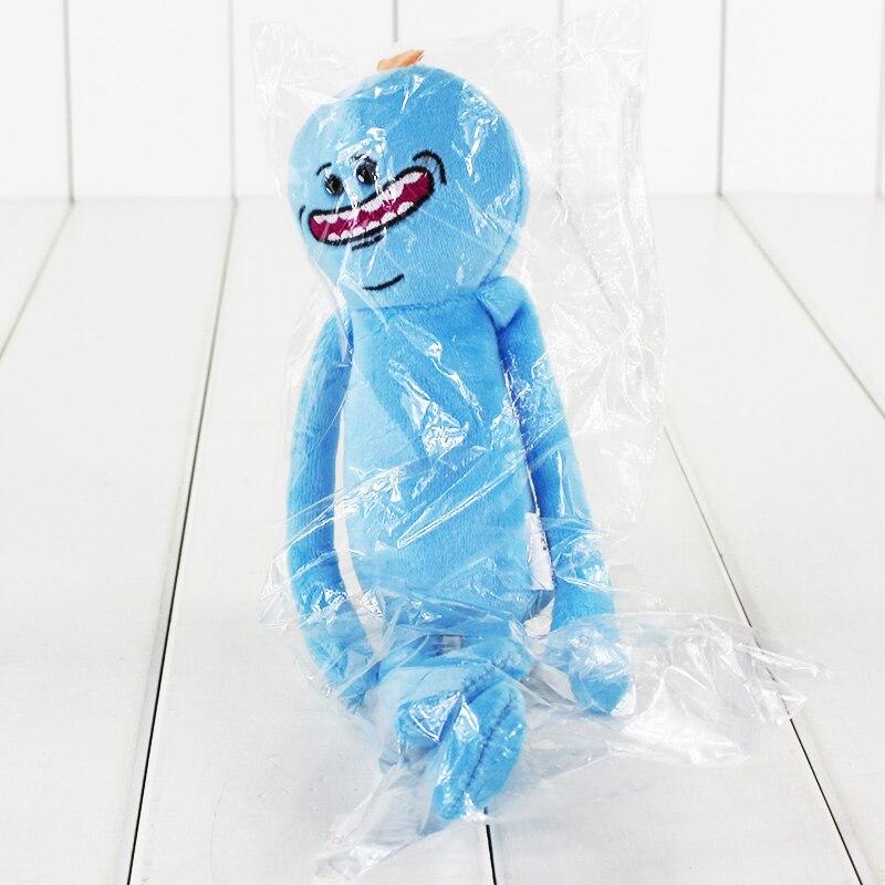 Рик и Морти плюшевые игрушки Sanchez Smith Mr Meeseeks Jerry Summer poopybuttole счастливый сад учёный мягкие куклы - Цвет: Happy