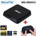 Lo nuevo M8S plus/M8S + Android TV Box 1 GB RAM + 8 GB ROM Set top caja Amlogic S805 Quad Core Android 4.4 TV BOX WIFI 4 K KODI Medi