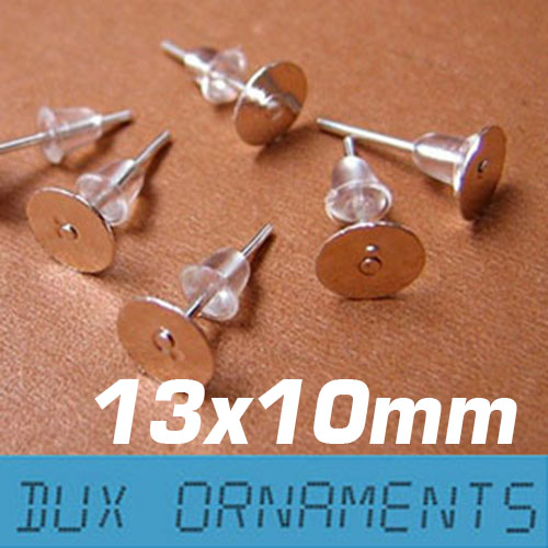 Plastic Earring Posts,500 Pairs Earring Posts and Backs,Earring Pins for Jewelry Making,Soft Earring Backings,Clear