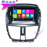 TOPNAVI Wince 6 0 2Din 7Inch Car Multimedia DVD Player Auto Video For Peugeot 207 Stereo