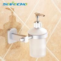 Free shipping liquid soap stand wall mounted ceramic bathroom accessories manual syringe gun dispenser soap dispenser Y0018