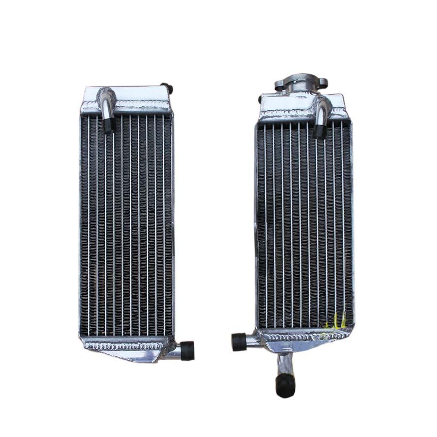L&R 40MM ALUMINUM Alloy RADIATOR FOR HONDA CR250R 1988 1989 1990 water box motorcycle replacement parts engine cooling parts